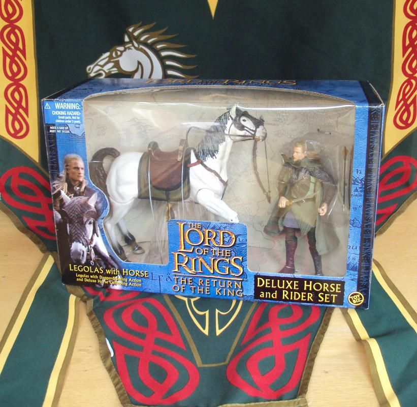 LEGOLAS & HORSE ACTION FIGURES