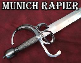 Munich town watch rapier